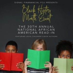 30th Annual National African American Read-In